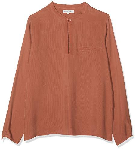 Second Female Damen Pen Shirt Hemd, Beige (Burned Camel 30), 40 (Herstellergröße: L)