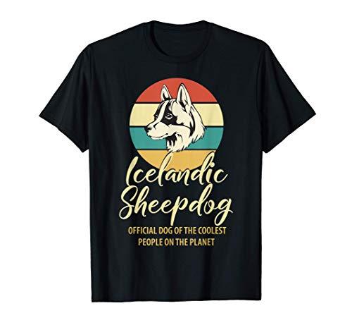 プラウドアイスランドシープドッグオーナーシャツ、アイスランドシープドッグ子犬好き、アイスランドシープドッグ母の日ギフト Tシャツ