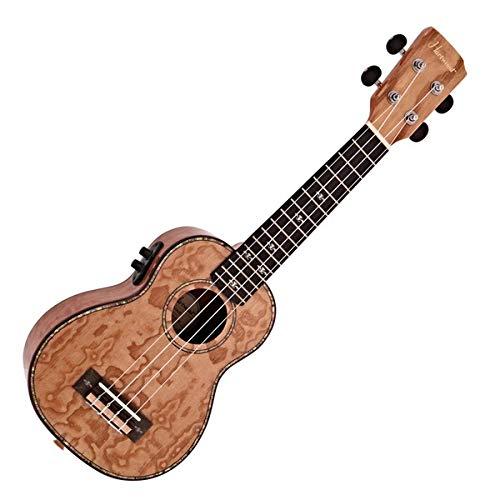 Ukelele Electroacústico Soprano Hartwood Sonata Fresno Quilted