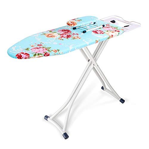 Más gruesa tabla de planchar, metal tabla de planchar con bandeja multifunción Home Hotel tienda de ropa de hielo Junta de Aguas de planchado, 110 * 31 * 86cm ( Color : B , Size : 110*31*86CM )