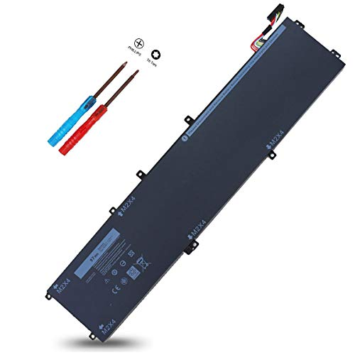 97Wh 6GTPY Laptop Battery for Dell XPS 15 9550 9560 9570 7590 Precision 5520 5530 5540 5510 M5510 M5520 Workstation,Vostro 7500,5XJ28 5D91C 5041C GPM03 05041C 15-9560-D1545 D1645 D1745 P56F002 P56F001