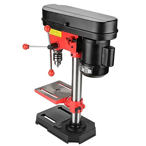 For Sale! Workbench Mounted Drill Press, 350W 5 Speed Mini Electric Bench Drilling Machine Drill Chu...