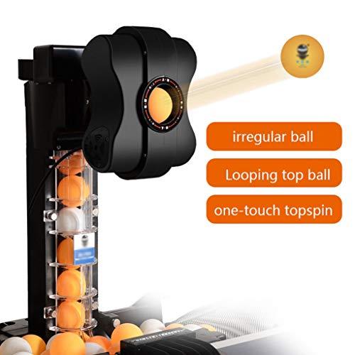 GSS-Rollstühle Tischtennis Ballmaschine Mit Einem Ballnetz, Kann Den Oberen Ball Automatisch In Einer Schleife Spielen Automatisches Balltrainingsgerät