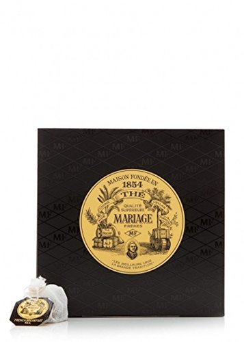 Mariage Freres. Marco Polo Black Tea, 30 Cotton Tea Bags 75g (1 Pack)