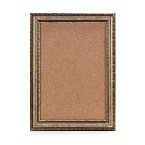 Yishobo Premium Framed Nature Cork Board, Pin Board, Memo Board, Vision Board, 24 x 18 Inches, Perfect for Home Decor, Office Decor