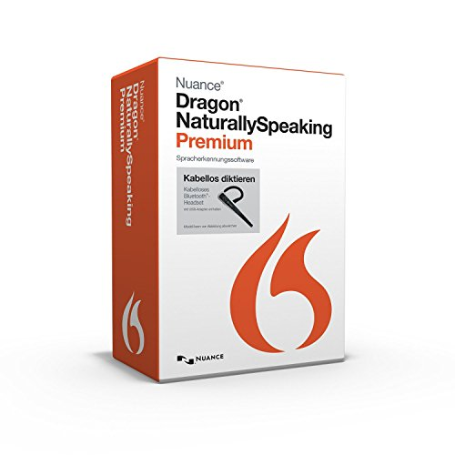 Nuance Dragon NaturallySpeaking 13.0 Premium Wireless