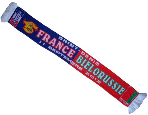 A chacun son Pays Echarpe - Collection supporter - Football FRANCE/BIELORUSSIE - 11 septembre