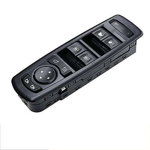 NFRADFM Interruptor de ventana de coche, interruptor de ventana eléctrica del conductor izquierdo, accesorios para coche, para Renault Fluence Megane 3 Laguna 3 2008-2016