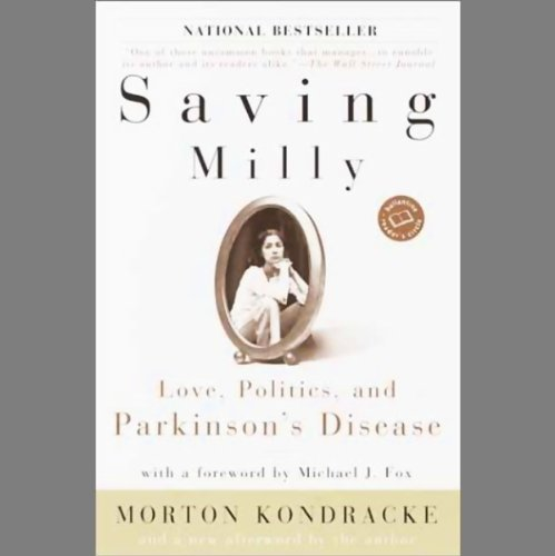 Saving Milly audiobook cover art