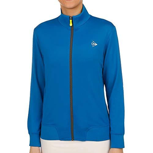 Dunlop, Clubline Knitted Trainingsjacke Damen-Blau,...