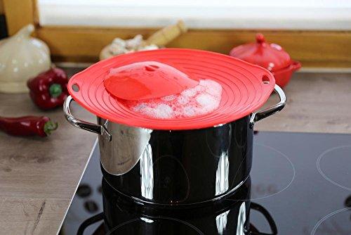 culinario Couvercle de protection contre les débordements, idéal pour les casseroles d'un diamètre de 16à 28cm