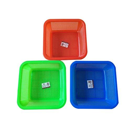 Toyvian 12 Unidades de Cestas de Almacenamiento para Aulas Colorido Organizador de Aulas Bandeja de Cubo Modular Cestas para Aulas Cajones Estantes Armario de Escritorio Sala de Juegos
