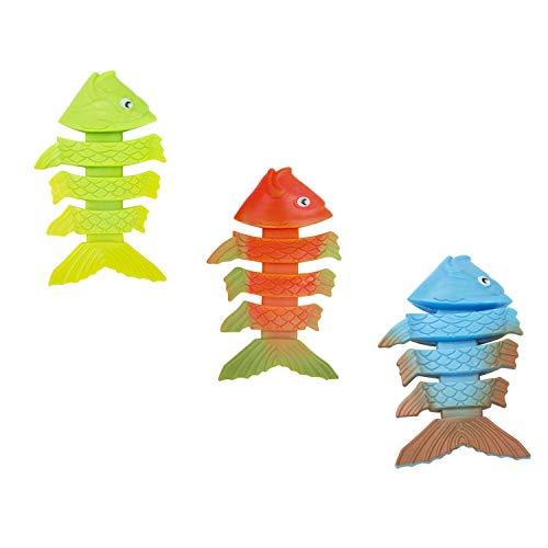 BESTWAY 26029 - Set Peces PVC Buceo Infantil Colores