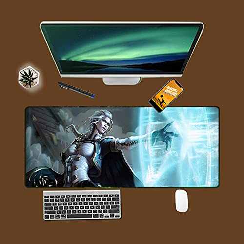 Wow Mousepad Boy Gift Gaming Mouse Pad Alfombra Pc Computer Gamer Alfombrilla Grande Cool Laptop Desk Mousepad-300 * 800 * 3  WoW-72