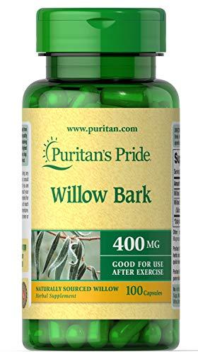 Puritan's Pride White willow bark 400 mg 100 Capsules 200
