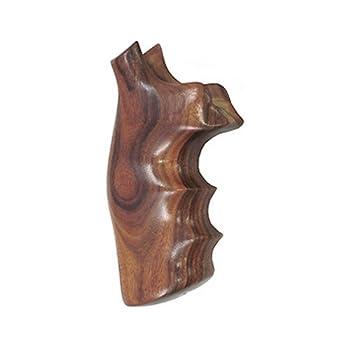 Hogue Ruger Redhawk Pau Ferro Premium Wood Grips Black