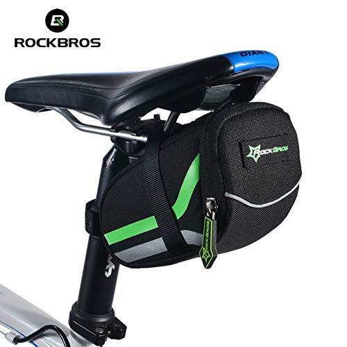 MKLS Fahrradsatteltasche Klappbarer Rücksitz Fahrradtasche Sattelstütze Fahrrad Fahrradkorb Heckbeutel Fahrradzubehör, 11