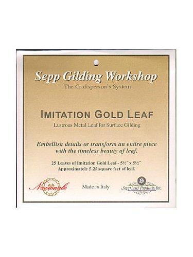 Sepp Metal Composition Leaf gold [PACK OF 2 ]