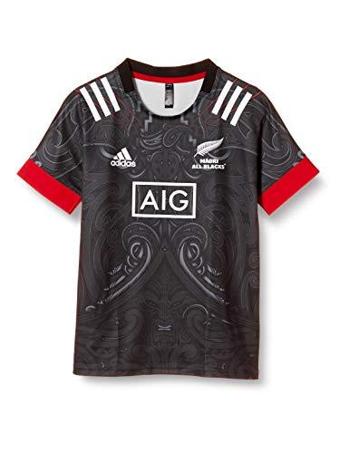 adidas Maori Rep JSY Y T-Shirt Unisexe pour Enfant M Noir