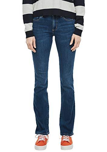 s.Oliver RED Label Damen Slim Fit: Bootcut Leg-Denim Dark Blue sretched 38.32
