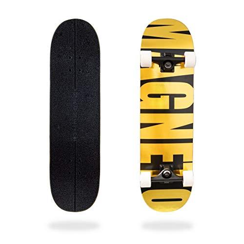 Magneto Skateboard (Gold)