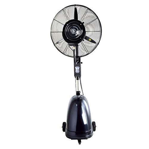 ZRX-Ventilatori Ventola di spruzzo di nebulizzazione Industriale Ventola di Oscillazione di Raffreddamento Commerciale con rotelle Piedistallo Mobile Altezza Regolabile silenziosa