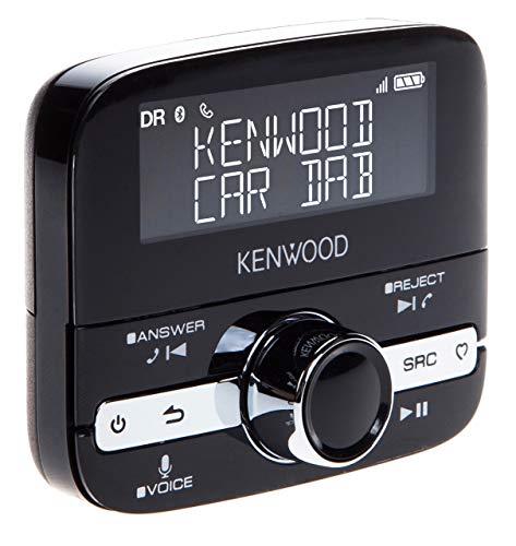 Kenwood KTC-500DAB universelle DAB + / Digitalradio und Bluetooth-Erweiterung, Schwarz