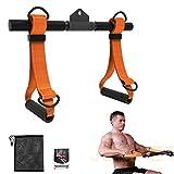 JEMPET - Accesorio para máquina de ejercicio, mango de máquina de remo desmontable, todo en uno,...