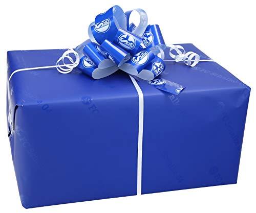 Schalke Fanartikel Geschenkpaket - Überraschungsbox mit Schalke Fanartikeln fertig verpackt