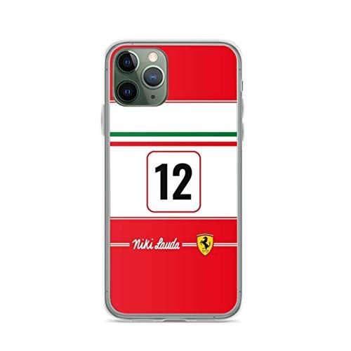 TPU sottile antiurto per Niki Lauda 1975 Cover per custodie per telefono trasparente puro iPhone 12/12 Pro Max 12 mini 11 Pro Max SE X XS Max XR 8 7 6 6s Plus Custodie