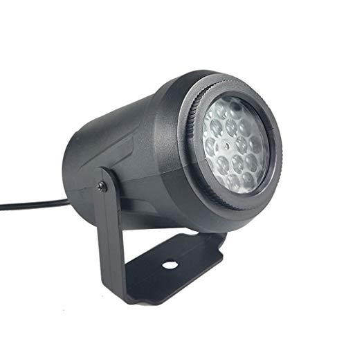 CLOOM Luces Proyector Led Rgb Lámpara De Proyección De Interior y Exterior con Múltiples Diapositivas y Control...