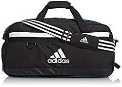 adidas Sports Bag Tiro Bag, Black / White, 49 x 24 x 24 cm, 32 lIter