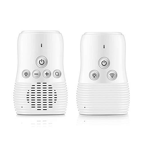 CYJ Vigilabebes 2,4 GHz, Baby Monitor LED, Audio Bidireccional, Vision Nocturna, Material De Protección Ambiental ABS, Función De Paginación, Modo Eco Inteligente