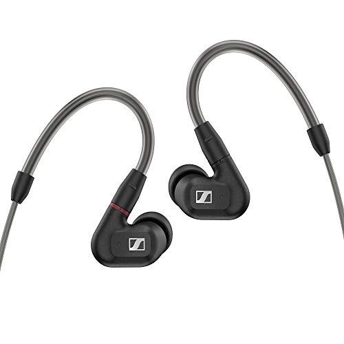 Sennheiser IE 300 In-Ear Audiophile Kopfhörer – Geräuschunterdrückung mit XWB Wandler für gleichmäßigen Sound, Abnehmbares hochwertiges Kabel mit flexiblen Ohrbügeln
