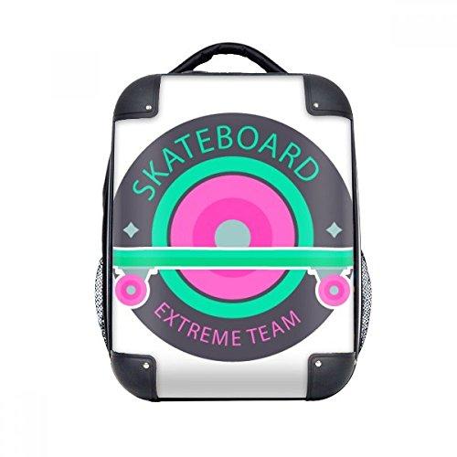 DIYthinker Wintersport Skateboard und Extreme Team Hard Case Schulter Kind-Rucksack-Geschenk 15