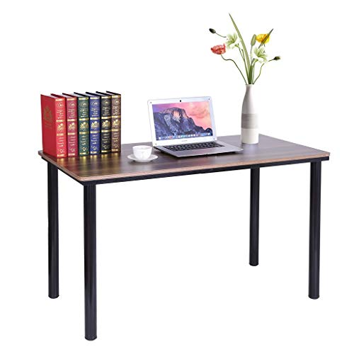Best Prices! 47inch Computer Desk, Mosunx Modern Sturdy Office Desk Study Writing Desk for Home Offi...