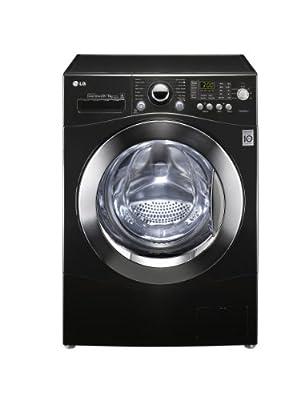 LG 1480RD6 1400rpm 9/6kg Direct Drive Washer Dryer Black