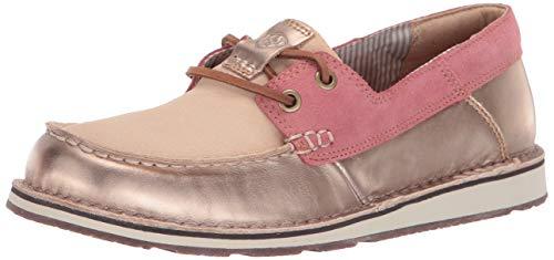 Ariat Women's womens Cruiser Castaway Ariat Cruiser Castaway Slip-On Shoe, rose gold/blush, 9.5 B US