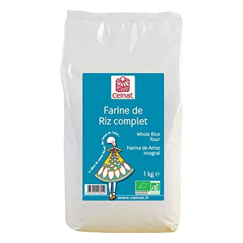 CELNAT - Farine De Riz Complet Bio 1Kg
