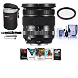 Fujifilm XF 16-80mm F4.0 R OIS WR (Weather Resistant) Lens - Bundle with 72mm Filter Kit, Lens Case Medium, Cleaning Kit, Capleash, Lens Cleaner, PC Software Package