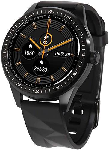 JIAJBG Fitness Tracker Smart Watch Ip68 Impermeable Impermeable Muestra Rápida Rastreador de Fitness Pantalla Táctil Reloj Deportivo con Cámara Sueño Monitor Notificaciones para And