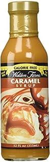 Walden Farms Caramel (2 Bottles) Syrup, Sugar Free, Calorie Free, Fat Free, Carb Free,..