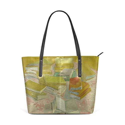 FANTAZIO Handtasche Schultertasche Van Gogh French Novels