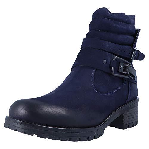 BABOOS 2108 125 Azul Botas para Mujer, Tamaño:42 EU