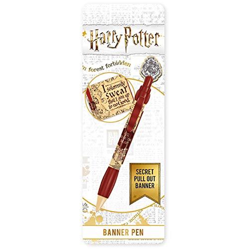 Harry Potter – Kugelschreiber einziehbar – Banner Karte des Maraudeurs