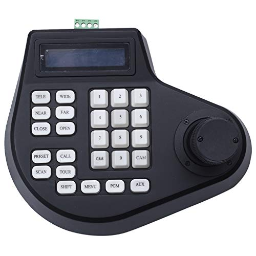 Beada 3D Coaxial CCTV Tastatur Controller LCD 1,5 Joystick Rs485 Ptz Speed Dome Kamera Halterung Für Pelco Ad Protokoll (Eu Stecker)