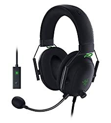 Razer TriForce Titanium 50 mm Drivers: with titanium-coated diaphragms for added clarity, our new, cutting-edge proprietary design divides the driver into 3 parts for the individual tuning of highs, mids, and lows-producing brighter, clearer audio wi...