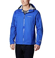 LIGHTWEIGHT COMFORTABLE RAIN JACKET: The Columbia Men's Evapouration waterproof rain jacket is perfect for heavy rain or light drizzles. This professionally designed jacket repels water quickly, keeping you dry and warm KEEPS YOU DRY: Columbia has de...