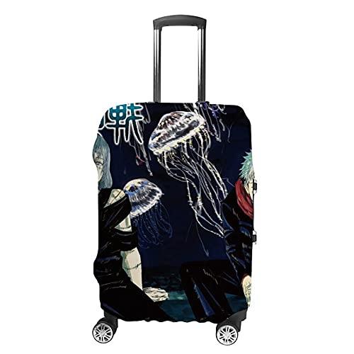 Juju-tsu Einzigartige Kofferhülle Kofferhülle Reise, Weiß-Juju-tsu1 (Weiß) - GH1888