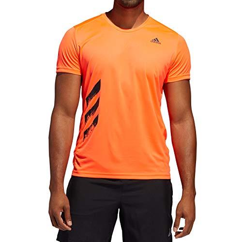 adidas Herren T-Shirt Run IT Tee PB, Rojsol, L, FR8378